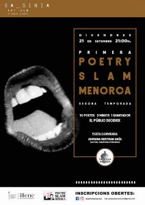 21 SEP 2018 | POETRY SLAM