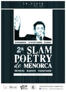 27 OCT 2017 | POETRY SLAM